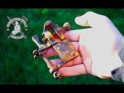 Tiny Antique Vice Restoration and Repair