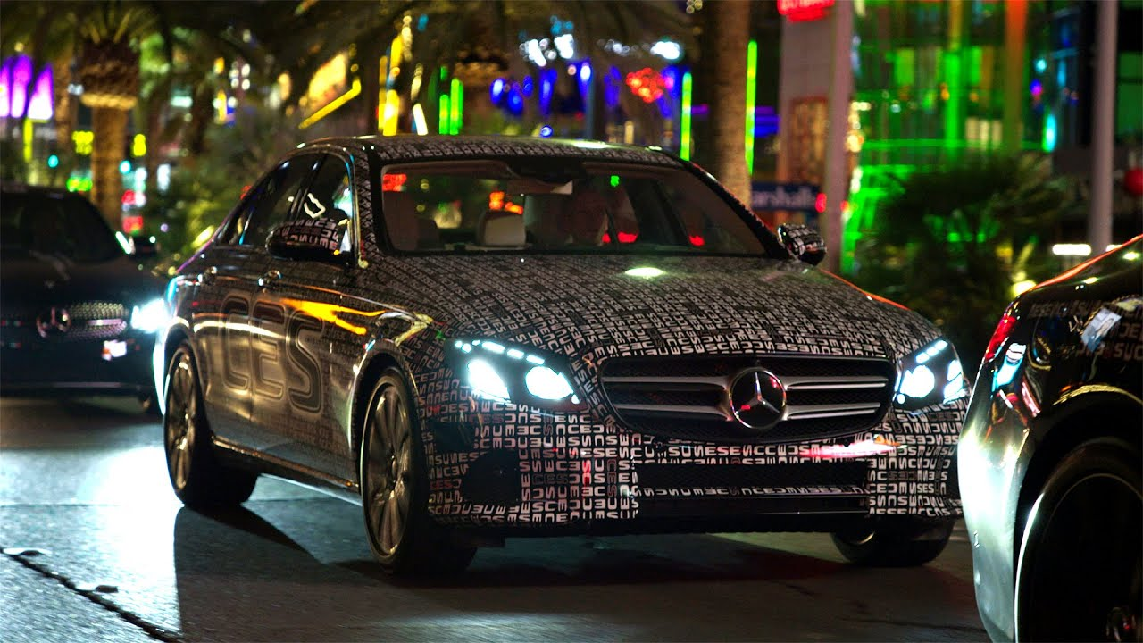 the new e class in las vegas mercedes benz original