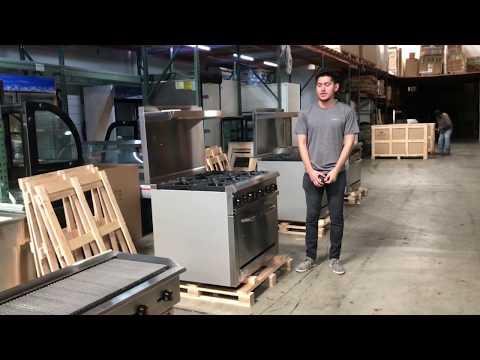 6b American  Range  Ranges Burner Commercial Oven Ovens Propane LP Natural Gas