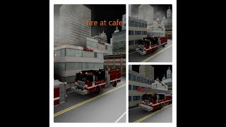 ROBLOX CHICAGO FIRE DEPARTMENT RESPONDS TO MASSIVE FIRE COMPLATION