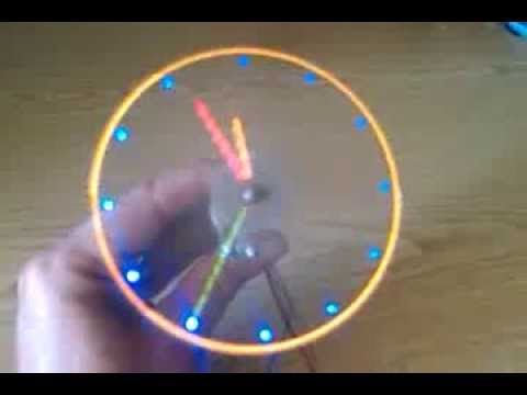 Propeller clock - Engineering Student Projects Training