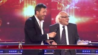 """Showmatch 2014 - Carlos Bianchi usó el celular de """"Dios"""" en Showmatch"""