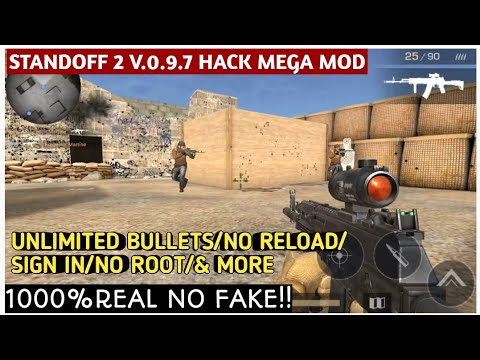 STANDOFF 2 V 0 9 7 HACK MEGA MOD || GOD MODE || NO ROOT || 100%REAL NO  FAKE!!