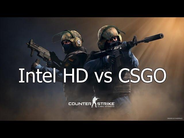 🔥 Pentium G3220 Intel HD Graphics vs CS GO - 640x480 LOW | 2020