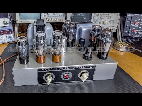 Tube Amplifier Repair, and what to look for.