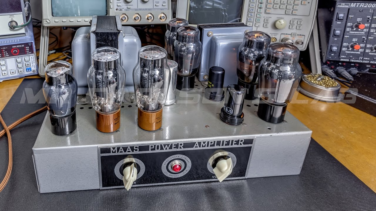 Tube Amplifier Repair, and what to look for