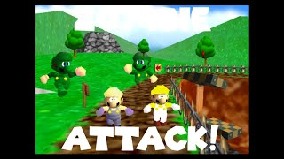 SM64 Bloopers :Zombie Attack!