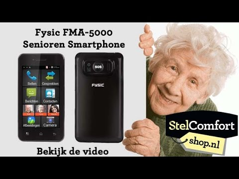 Fysic FMA-5000 senioren smartphone - YouTube