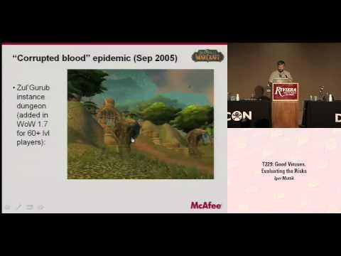 DEF CON 16 - Igor Muttik: Good Viruses. Evaluating the Risks.
