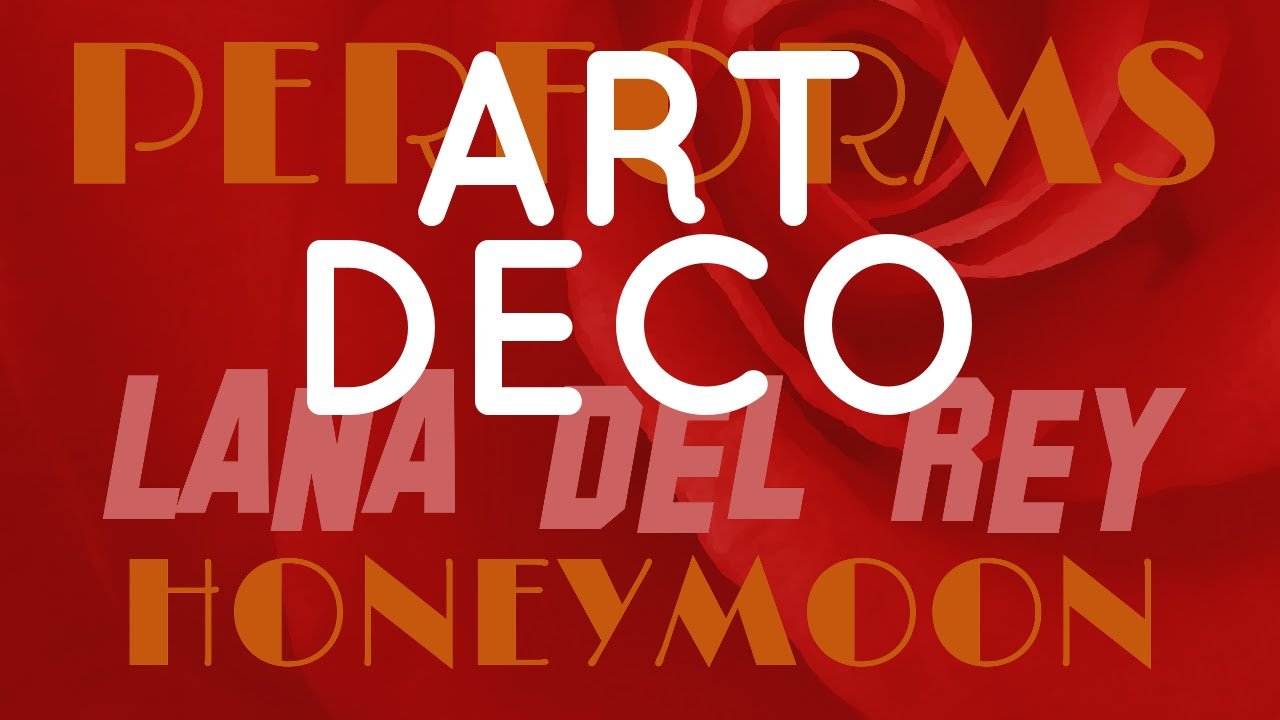 Art deco lana del rey tribute cover by molotov cocktail for Art deco lana del rey