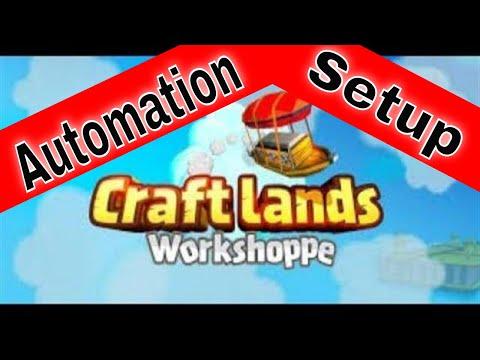 Craftlands Workshoppe - Unlocking the Basement / Worker Automation  