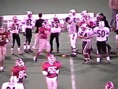 Jamesville Dewitt Football Vs. Chittenango 1998