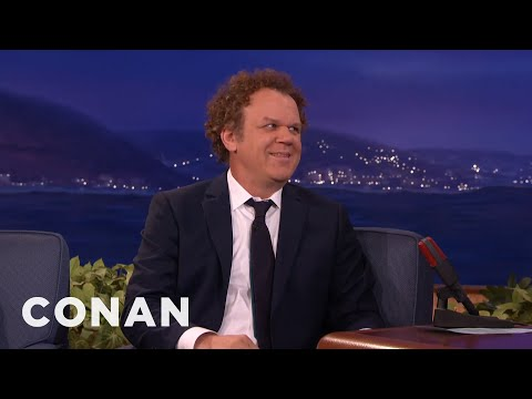 John C. Reilly Is In Touch With His Feminine Side  - CONAN on TBS