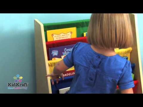KidKraft Primary Sling Bookshelf 14226