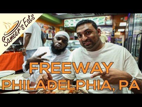 Breaking fast with rappers Freeway & Jakk Frost in Philadelphia!