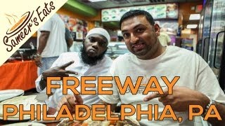 Breaking fast with rappers Freeway & Jakk Frost in Philadelphia!