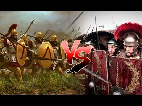 How Did The Romans Beat The Greek?- Legions Vs Phalanx, Gladius Vs Sarissa