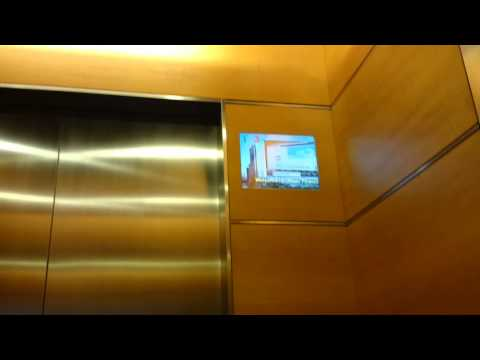 Ocean Financial Centre - Mitsubishi High-Speed Elevator (with circleline28)