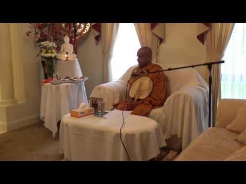 Ven. Mawarale Bhaddiya Thero Dhana/Bana Deshana at Castle Hill Sydney Australia 17/03/2017
