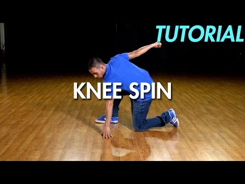 How To Knee Spin (Hip Hop Dance Moves Tutorial)   Mihran Kirakosian