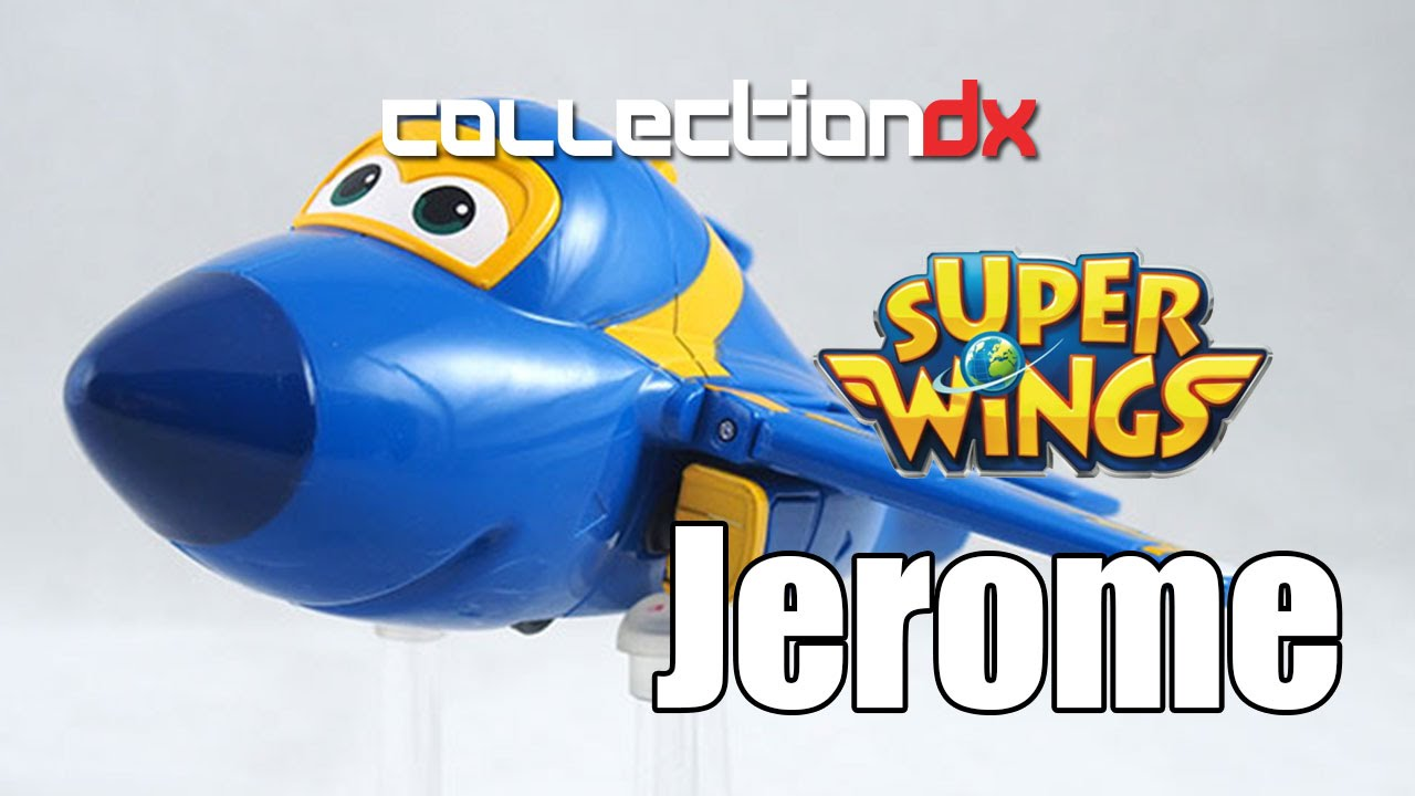 super wings jerome toy review collectiondx youtube. Black Bedroom Furniture Sets. Home Design Ideas