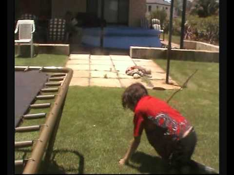 Backyard Wrestling: S.A.W ep 16: JJ v The Lukester ...