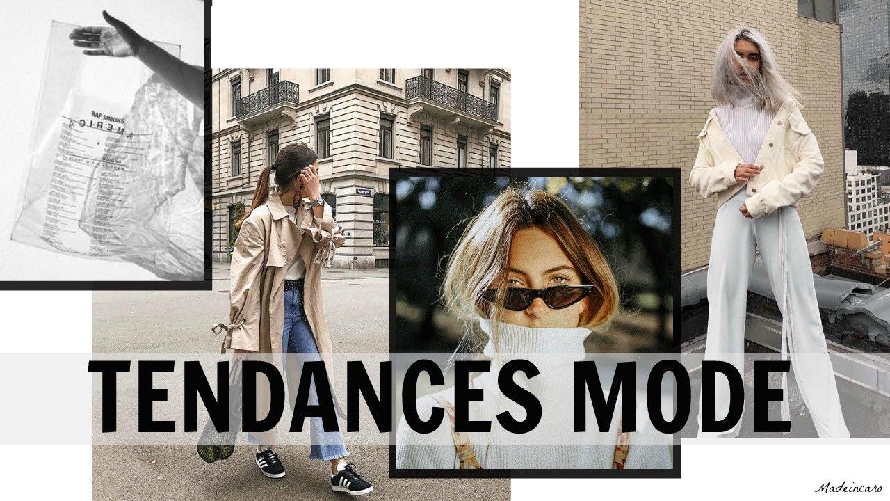 TENDANCES MODE • PRINTEMPS 2018