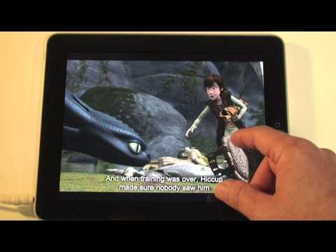 CTR demo - How To Train a Dragon (on iPad)