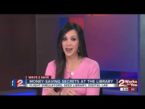 KJRH Ch. 2 News at 5 p.m. Features Central Library