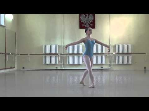 Aleksandra Dudzik - Ellison Ballet Audition