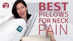 The Best Pillows for Neck Pain!