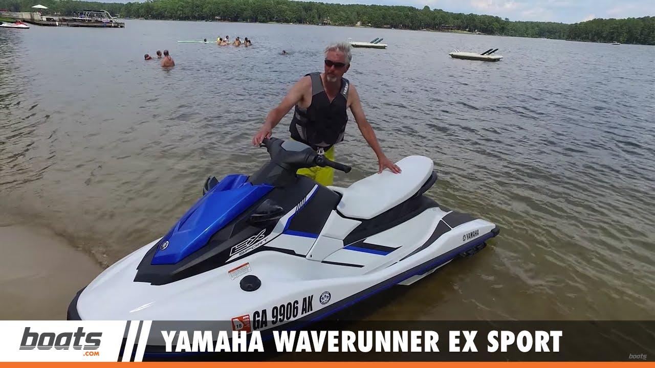 Used Yamaha Jet Skis Charlotte Nc >> Yamaha Waverunner Ex Sport First Look Video Youtube