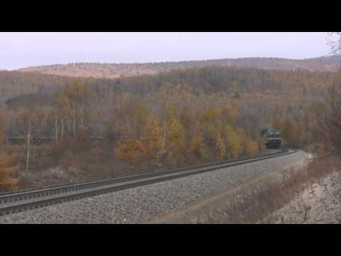 Unsilenced diesels in Inner Mongolia! (HD)