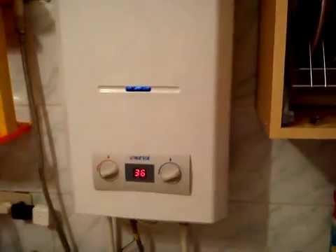 Как выбрать газовую колонку? Обзор турбированной колонки Röda .