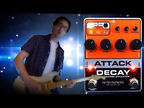 Electro-Harmonix Attack Decay Tape Reverse Simulator GENTLY USED