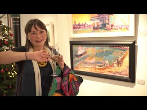 Landscape Artist Of The Year Finalists Exhibition In Mayfair London