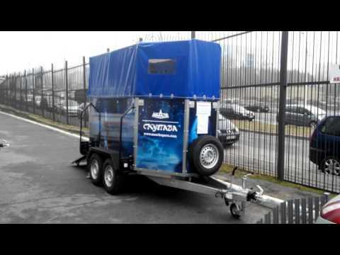 Прицеп для перевозки лошадей МАЗ-КУПАВА
