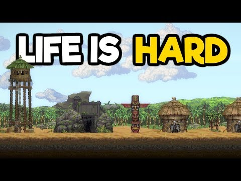 Life is Hard Gameplay 2018 - Colony Building Sim Meets Crafting God Game