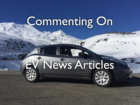 Reading Stuff EV Article and Making Comments