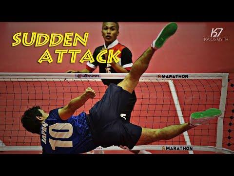 Sepak Takraw ● Best Surprise Attack | HD
