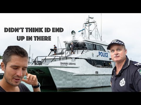 Australian Police Boat Called To See Me!