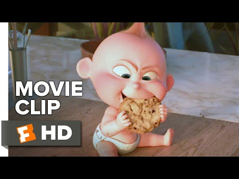 Incredibles 2 Movie Clip Cookie 2018 Movieclips Coming Soon Youtube