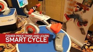 Fisher-Price's smart cycle will give your kid exercise, education