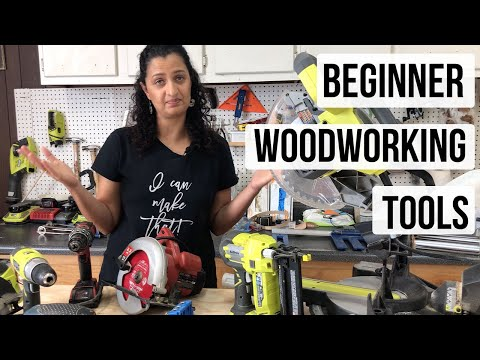 Woodworking tools for beginners - The only 5 you will need!