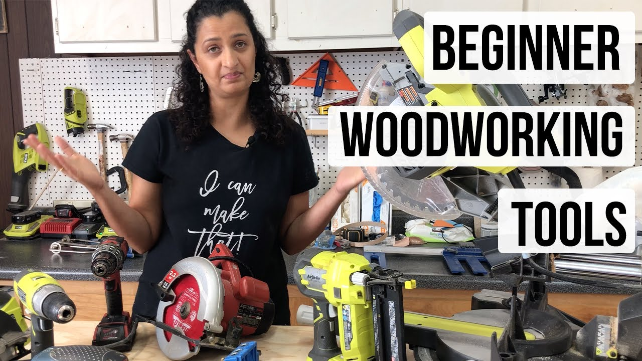 Woodworking Tools For Beginners The Only 5 You Will Need Youtube