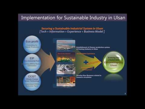 Eco Industrial Park Development - The Ulsan Experience