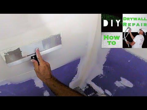 How to Skim Coat Walls Demonstration
