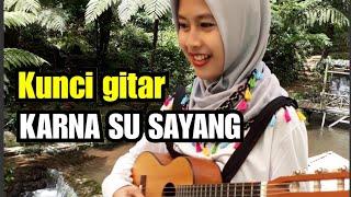 Gambar cover Kunci gitar Karna Su Sayang dari C - #Tutorial Chord