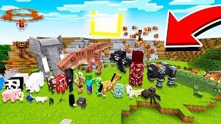 The Minecraft PE INFINITE MOBS Update... (REAL)