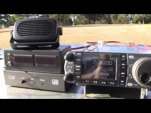 VK3CRG Portable HF Amateur Radio at Eastern Park, Geelong, Victoria, Australia